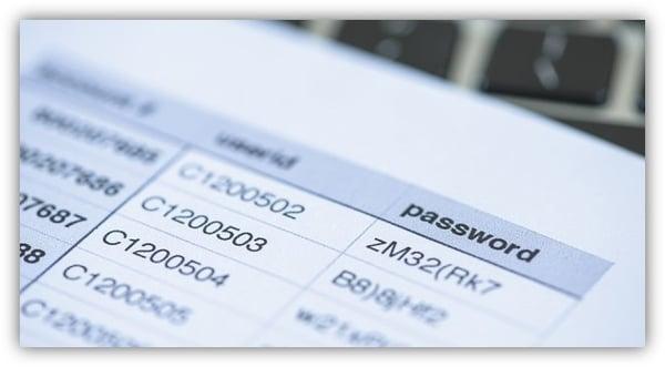 PRISMA CAMPAIGNS - User-Passwords